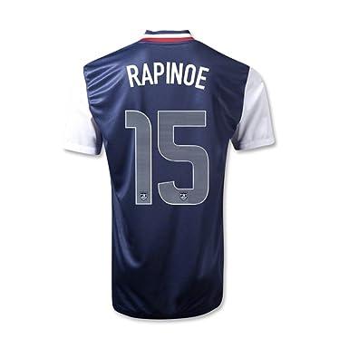 the latest 7b3c4 7846c Amazon.com: RAPINOE #15 USA Away Women's Jersey: Clothing