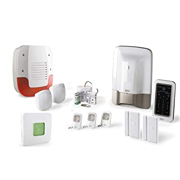 Kit de alarma inalámbrica para casa Tyxal + con 1 GSM/IP + ...