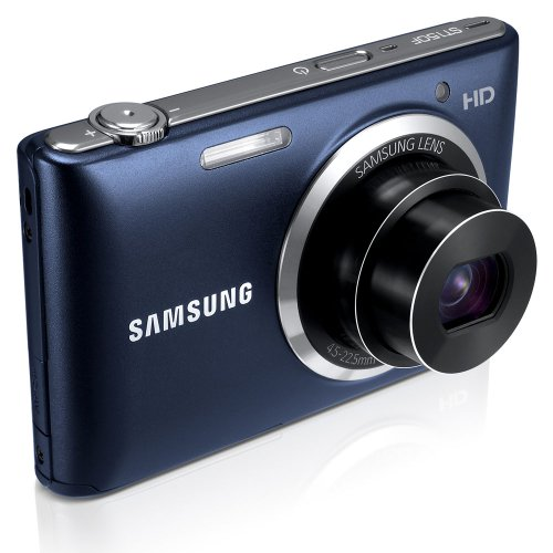 Samsung ST150F 16.2MP Smart WiFi Digital Camera with 5x Optical Zoom and 3.0'' LCD Screen (Black) by Samsung