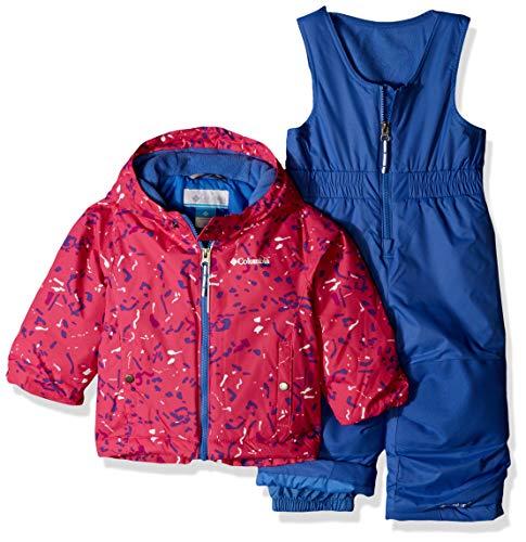 Columbia Kids' Toddler Frosty Slope Set, Pink ice Splatter, 2T