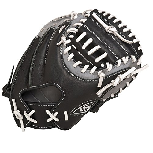 LOUISVILLE SLUGGER FG Omaha Select Catchers Mitts, Black/...