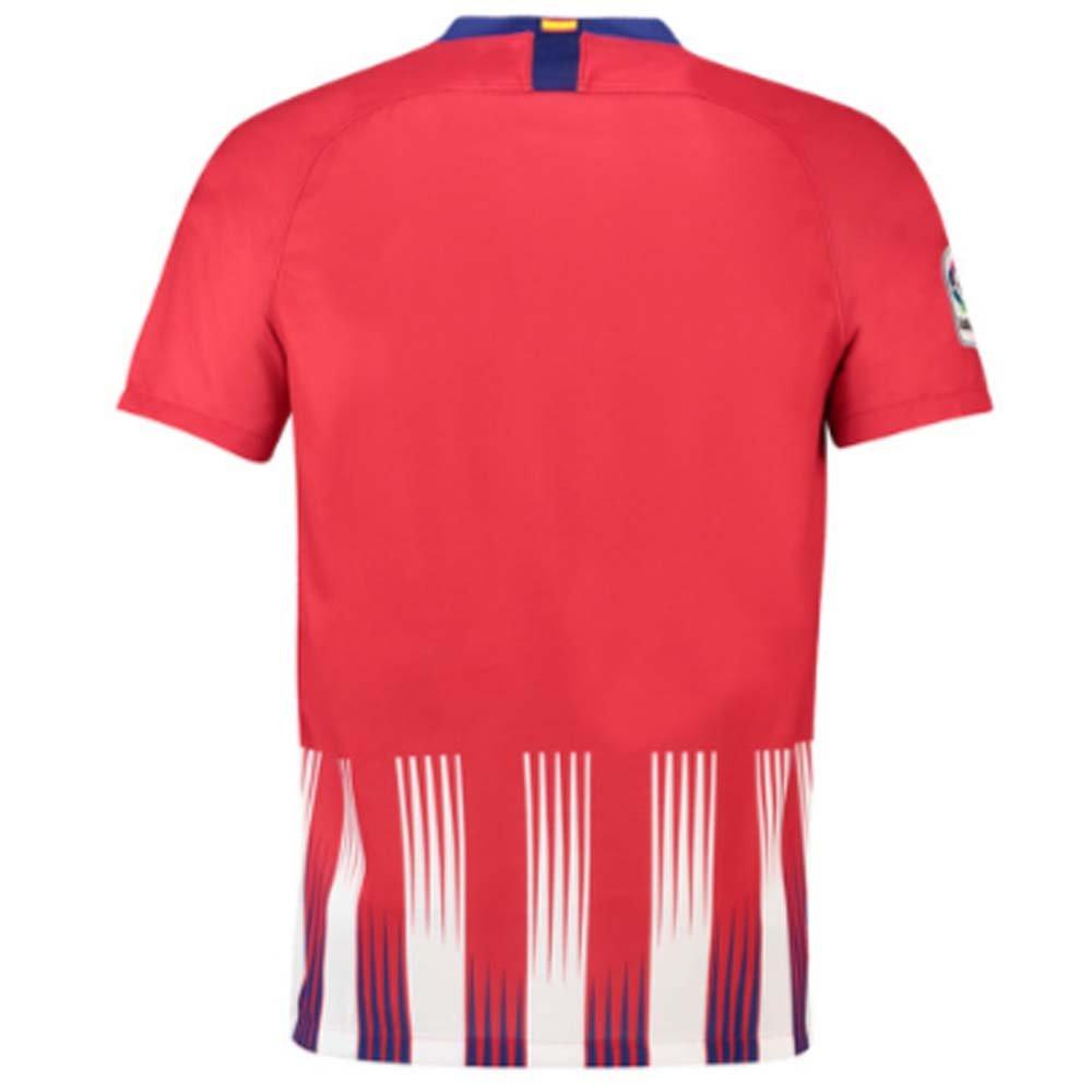 2018-2019 Atletico Madrid Home Nike Football Soccer T-Shirt ...