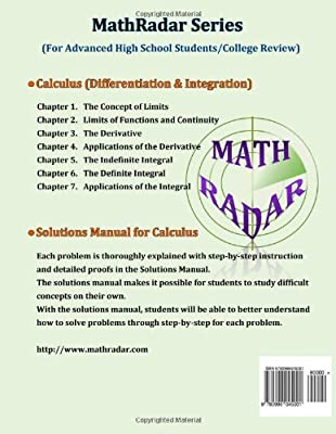 Solutions Manual - Calculus (Differentiation & Integration