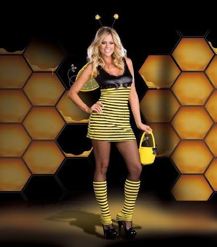 Costumes For All Occasions RL6405MD Medium Buzzin Around - Buzzin Around Girls Costume