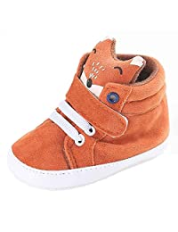 Baby Shoes, FTXJ Boys Stylish Fox Ankle High Sneaker Anti-slip Soft Sole Shoes