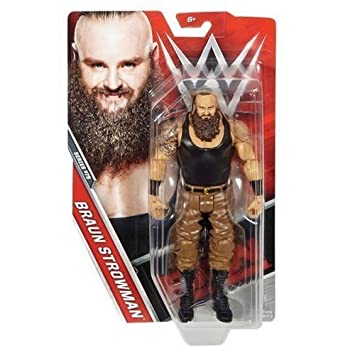 Monster 'the Básico Serie Braun De Wwe Acción 75 Strowman Figura USzMpV