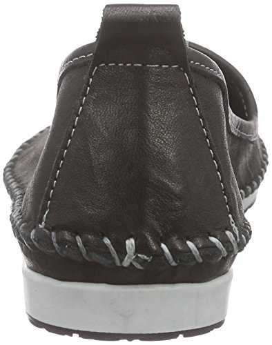 Andrea Conti 0027449 - Mocasines Mujer Negro - Schwarz (schwarz 002)