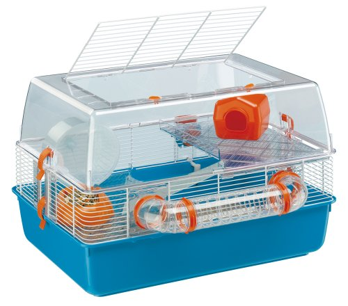 Ferplast Duna Fun Hamster Cage with Accessories (55 x 39 x 37.5 cm) ()