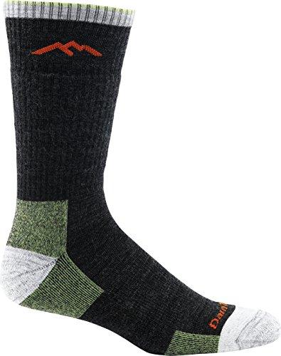 Darn Tough Men's Hiker Boot Sock Cushion (Style 1403) Merino Wool, Lime (Medium 8-9.5) - 6 Pack
