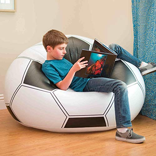 Takmeway Inflatable Football Sofa seat Chair/Soccer Inflatable beanbag Sofa Chair Adult Kids,A from Takmeway