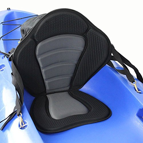 Docooler Deluxe Padded Kayak Boat Seat