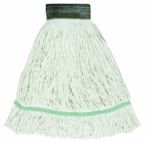 Wilen A02903, J W Atomic Rayon Loop Wet Mop, Large, 5'' Mesh Band (Case of 12) by Wilen Professional Cleaning Products
