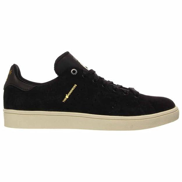 super popular d054c 288f9 Amazon.com   Adidas x The Hundreds Men Stan Smith Vulc - Bruder Pack (black    cblack   cwh...   Shoes