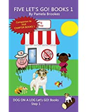 Five Let's GO! Books 1: Systematic Decodable Books for Phonics Readers and Folks with a Dyslexic Learning Style
