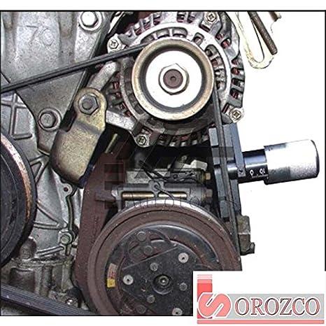 Comprovador medidor de tensión para correas (tensiómetro) : Amazon.es: Coche y moto