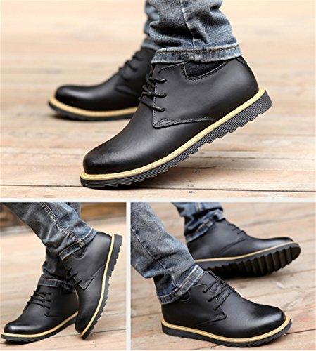 d'affari Scarpe alla scarpe scarpe Nero di uomo uomo da inglesi da da uomo cotone rinfusa scarpe casual da uomo casual TMKOO dPqYd