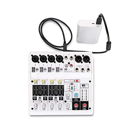 DDSHYNH Tarjeta de Sonido de 8 Canales Mezclador de Audio ...