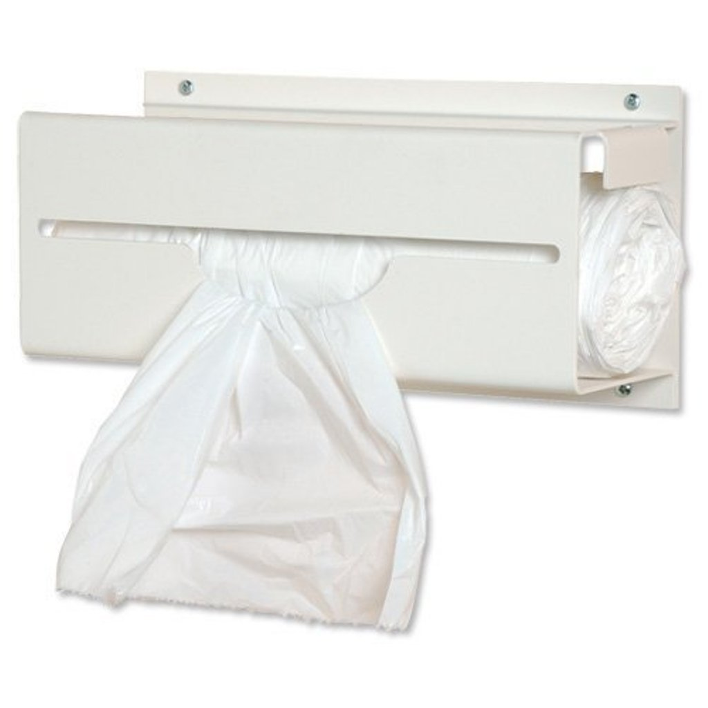 Disposable White Polythene Aprons on a Roll 200 by Elite Healthcare