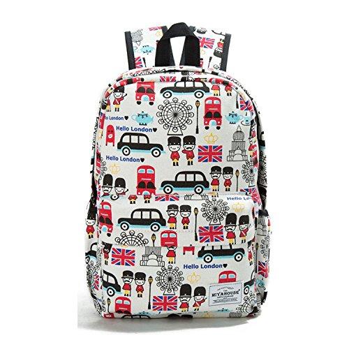 (Unique Printing Backpack Women Floral Bookbags Canvas Backpack School Bag For Girls Rucksack Female Travel Backpack,1037)