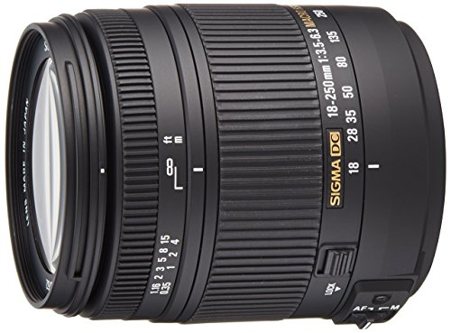 Sigma 18-250mm f3.5-6.3 DC MACRO HSM for Pentax Digital SLR Cameras