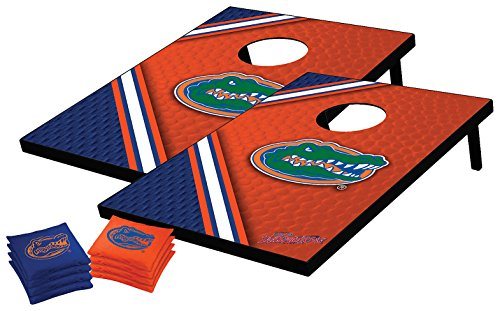 NCAA College Florida Gators Tailgate Toss Bean Bag Game Set, Medium