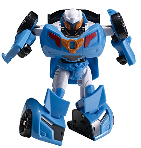 Tobot Youngtoys Mini Y, Car Transforming Robot Car to Robot Animation Character