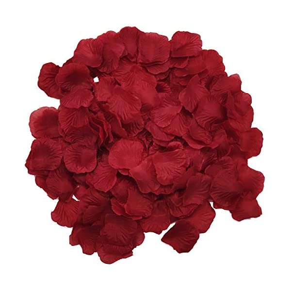 Wootkey-10-Pcs-Plastic-Artificial-Flowers-California-Berries-Rich-Red-Artificial-Berry-Stems-Holly-Christmas-Berries-for-Festival-Holiday-and-Home-Decor-Rose-Petal-Wine-red