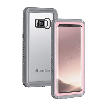 Lanhiem Funda Impermeable Samsung S8, Carcasa Sumergible Resistente Al Agua IP68 Certificado [Protección de 360 Grados], Carcasa para Samsung Galaxy ...