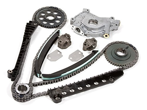 Evergreen TK6054LOP 02-04 Ford F150 F250 E150 E250 Expedition Excursion 5.4 SOHC 16 Valves Timing Chain Kit Oil Pump