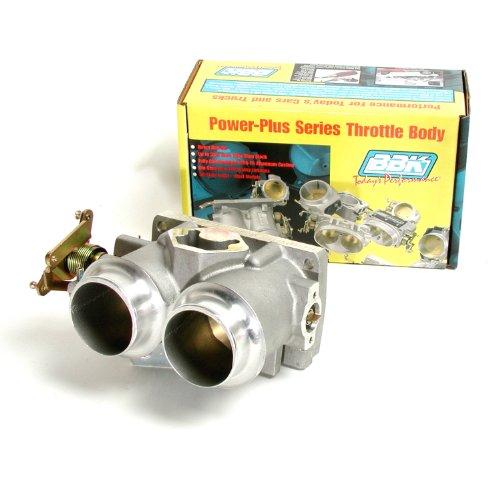 BBK 3503 Twin 61mm Throttle Body - High Flow Power Plus Series For Ford F Series Truck And SUV 302, - Injection Ford 302 Fuel
