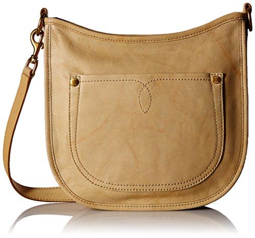 FRYE Campus Rivet Crossbody Leather Handbag, banana (Banana Handbag)