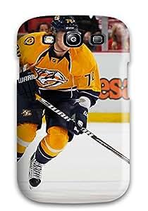 DanRobertse Galaxy S3 Hybrid Tpu Case Cover Silicon Bumper Nashville Predators (30)