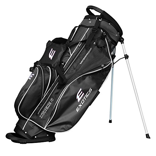 Tour Edge Exotics Extreme 4 Stand Bag 2018 Black by Tour Edge