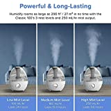 LEVOIT Humidifiers for Bedroom, Ultrasonic Cool