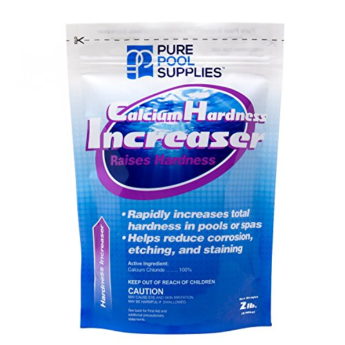 Pure Pool Supplies Calcium Hardness Increaser 2 Lb. (Calcium Up Calcium Chloride) Pool Spa Balancer