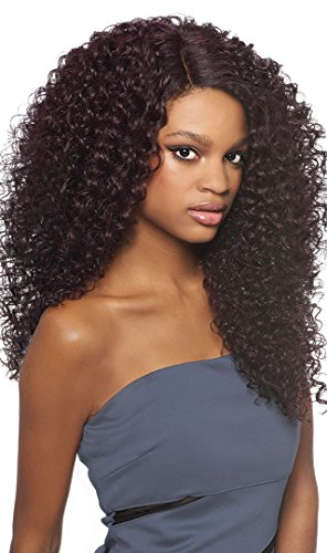 Outre Synthetic Lace Front Wig L Part Batik Dominican Curly