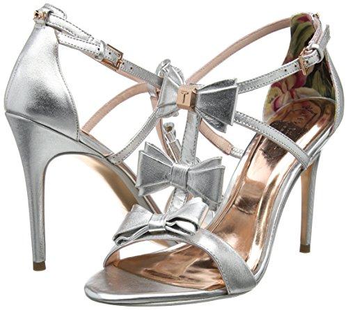 Cheville Sandales Femme Appolini Baker Ted Bride silver Argent wqIWFS