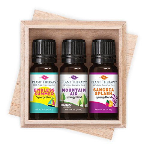 Plant Therapy Summer Blends Synergy Set 100% Pure, Therapeutic Grade, ()