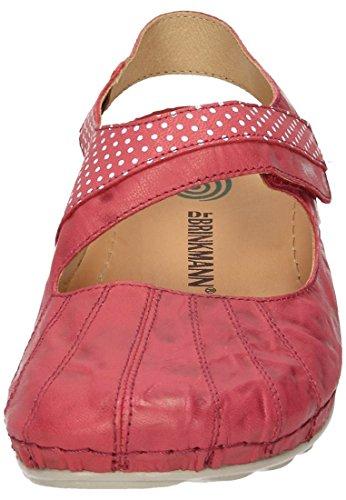 Donna Ballerine Dr Brinkmann 710845 Rot qYx7zp
