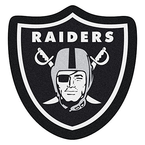 FANMATS 20982 Team Color 3' x 4' NFL - Oakland Raiders Mascot Mat ()