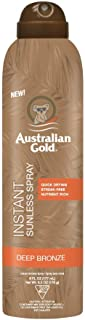 product image for Australian Gold Instant Sunless Tanning Spray, 6 Ounce| Rich Bronze Color with Fade Defy Technology | Energizes & Softens Skin | New Packaging Same Great Formula