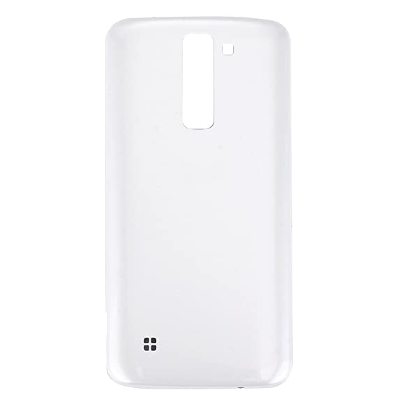 meet beb7c 939f6 Amazon.com: iPartsBuy for LG K7 Back Cover Replacement (White): Cell ...