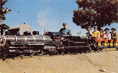 Postcard Miniature Railroad Train Royal Gorge Canon City, Colorado~118487
