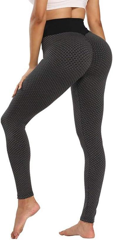 Women High Waist Butt Lift Yoga Pants Stretchy Fitness Leggings Running Trousers