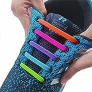 No Tie Silicone Elastic Shoelaces Special Lazy Shoe Laces for Men Women Kids