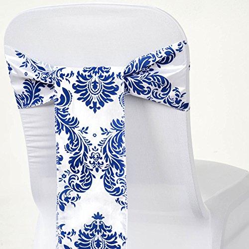 balsacircle-50-damask-flocking-chair-sashes-bows-ties-white-on-royal-blue