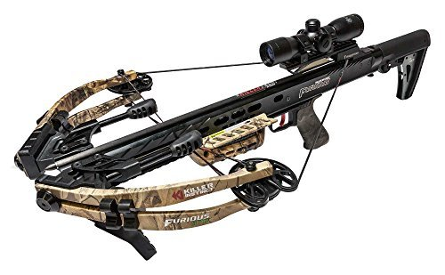 Killer Instinct FURIOUS 370 FRT Crossbow with TriggerTech Frictionless Release Technology