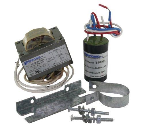 ROBERTSON 3P10059 BLU0100A04900 M mHID Ballast Reactor Kit for 100 Watt S54, High Pressure Sodium Lamps, 120Vac, 60Hz, NPF (Successor to 3P10008, BLU0100A04900) - 120v High Pressure Sodium Ballast