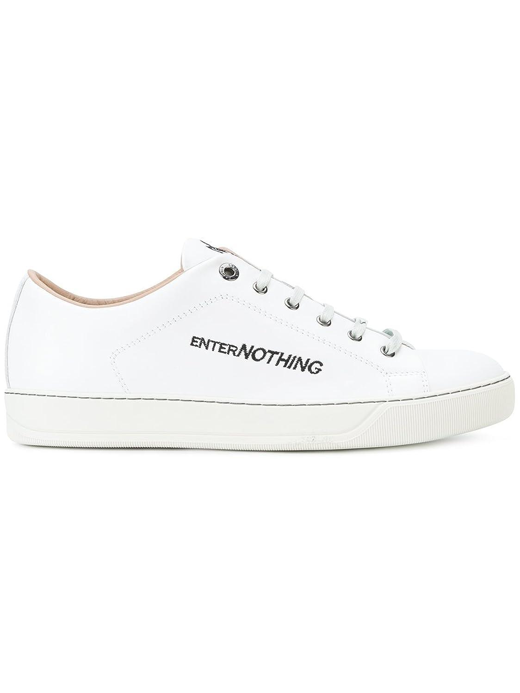 Lanvin メンズ FMSKDBNCVENEP1800 ホワイト 革 運動靴 B07DMN5NL5