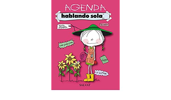 Amazon.com: Agenda Hablando sola / Agenda Speaking alone ...